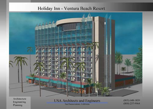 holiday inn ventura california. USA architects and engineers